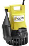 U3ks - pompa zatapialna do wody brudnej z systemempłuczącym, pływakiem na sztywnym ramieniu, odpornana pracę na sucho
