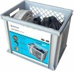 WYPRZEDAŻ: PUMP BOX - zestaw przeciw powodziowy (pompa Qmax =11 m3/h, Hmax = 8 m, wąż, złączki, kosz)