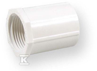 Złączka z gwintem nakrętna KW/GW PVC 2