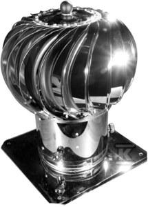 Nasada obrotowa kulista fi150 aluminium