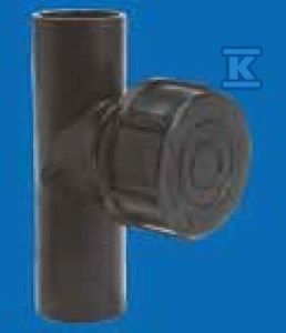 Czyszczak prosty 40x40/88 PEHD QuickStream
