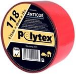 Taśma 48mm x 25m 118 czerwona do otulin