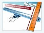 """Odpływ liniowy prysznicowy """"Linearis"""" - 45600.64"""