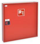 HW-25N-30 Hydrant wewnętrzny natynkowy SLIM GREEN RAL 3000, zamek uniwersalny 780x780x180mm