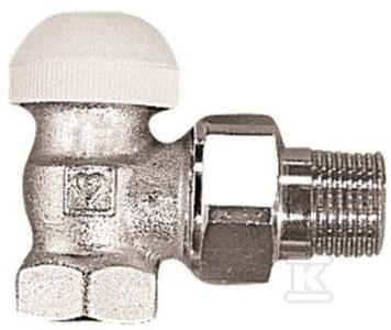 """Zawór termostatyczny TS90 1/2"""" kątowy"""