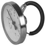 Termometr bimetaliczny przylgowy ATh 63F, fi 63 mm, 0-120°C, kl. 2,0