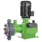 Pompa tłokowo-membranowa dozująca z silnikiem asynchronicznym DMH 5-10 B-SS/V/SS 41AAx