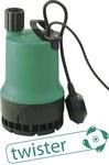 Pompa zatapialna TMR 32/8, wyłącznik pływakowy, kabel zasilania 3m, z systemem TWISTER, odsysanie do poziomu 2mm, zasilanie 230V 50Hz