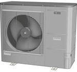 Powietrzna pompa ciepła NIBE AMS 10-12, 1x230V lub 3x400V jednostka zewnętrzna o modulowanej mocy 3,5-12kW