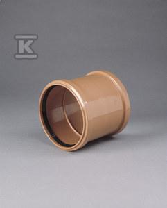 Złączka PVC 500 kl.N SDR41 dwukielichowa