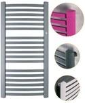 Grzejnik drabinkowy RETTO 50X110 520W, podłączenie dolne, rozstaw= 50mm, kolor biały