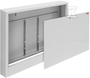 Natynkowa szafka Onnline 780x660x140 do zamontowania rozdzielaczy bez i z układem mieszającym 13/7 zamykana na monetę