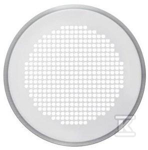 Venezia - kratka dekoracyjna, do skrzynki rozprężnej CLRF / TVA z filtrem, DN125, stal nierdzewna 990320780