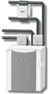 Pompa ciepła BWW - 1 - 11 do montażu zewnętrznego Woda - Woda