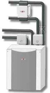 Pompa ciepła BWW - 1 - 15 do montażu zewnętrznego Woda - Woda
