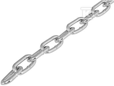 Łańcuch stalowy BIS 26 X 5,4 mm (zgodny z normą DIN 5686) /30m/