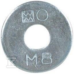 BIS RAPIDRAIL, płaska podkładka 653 45mm WM14,3,4,5,S 8mm