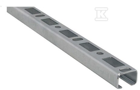 BIS RAPIDRAIL, szyna montażowa WM2 o przekroju C, 30X30 /6m/