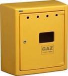 Obudowa gazomierza G066/P BAARD żółta otwarta