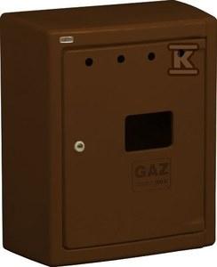 Obudowa gazomierza G56/MK BAARD brązowa stelaż