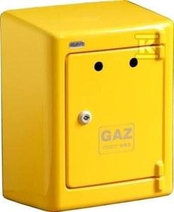 Obudowa gazomierza żółta G034natynkowa