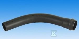 Łuk ciśnieniowy jednokielichowy PVC 110/90 PN10 popiel