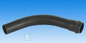 Łuk ciśnieniowy jednokielichowy PVC 225/90 PN10 popiel