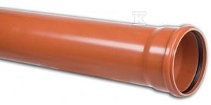 Rura kanalizacyjna zewnętrzna PVC 160X4.7X2000 SN8 KL.S ML (multilayer, spieniona)