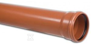 Rura kanalizacyjna zewnętrzna PVC 200X5.9X1000 SN8 KL.S LITA