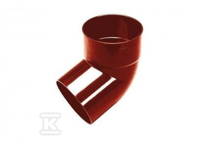 Kolano 100x100/67 jednokielichowe specjalne, kolor ceglasty