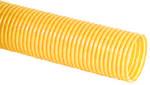 Rura drenarska PVC DN/OD 100x91, zwój 50m, typ UP (bez otworów perforacyjnych), falista, kolor żółty /50m/