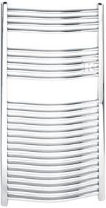 Grzejnik łazienkowy typ 450x1600 łuk chrom