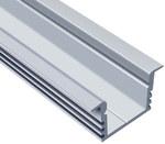 Profil LED podtynkowy A, długość 200cm, aluminiowy,EX, nr.katalogowy:PL-PTA-200_EX