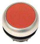 Napęd M22-DR-R przycisk płaski czerwony bez samopowrotu