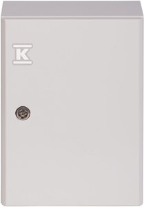 Rozdzielnia metalowa hermetyczna RH-341 300X400X150 IP65, płyta montażowa w komplecie.