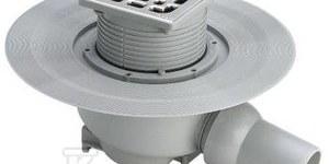 Odpływ łazienkowy DN50 tworzywo sztuczne / szary, model 492176