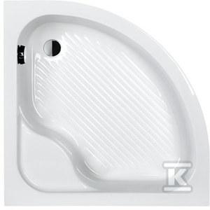 Brodzik BPzs/CL 90x90x28+ST3 biały eurowhite