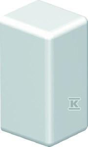 Końcówka listwy 20x10, kolor biały RAL 9010, typ WDK
