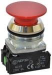 Przycisk NEF30-D2X czerwony