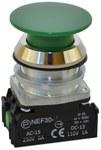 NEF30-DZ XY-zielony przycisk sterowniczy