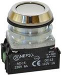 Przycisk NEF30-K2X biały