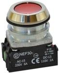 Przycisk NEF30-K2X czerwony