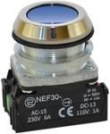 Przycisk NEF30-KX niebieski