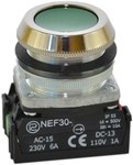 NEF30-KXY-zielony przycisk sterowniczy