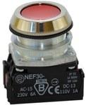 Przycisk NEF30-KY czerwony