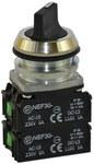 NEF30-P2X2Y-czarny przycisk sterowniczy