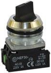 NEF30-PXY-czarny przycisk sterowniczy