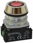 NEF30-UK XY-czerwony przycisk sterowniczy