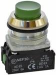 NEF30-WZ XY-zielony przycisk sterowniczy