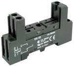 Gniazdo wtykowe GZ96 na szynę DIN dla Przekaźników seri RM96 1P zaciski śrubowe